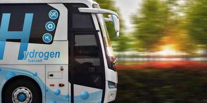 Bus mit Brennstoffzellen