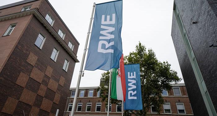 RWE Logo Fahnen
