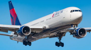 Delta Air Lines Flugzeug