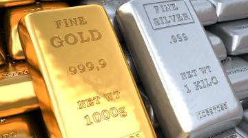 Gold und Silber Barren