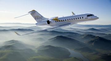 Business-Flugzeug Global 5500 Bombardier