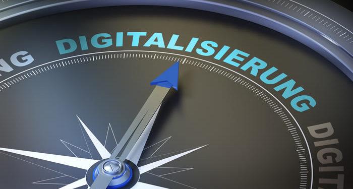 Digitalisierung Kompass