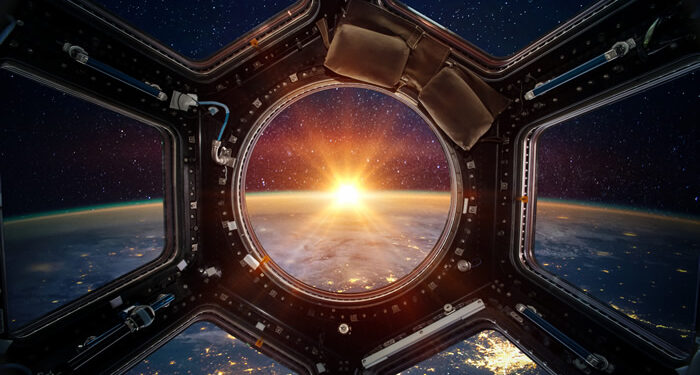 Raumschiff Weltall